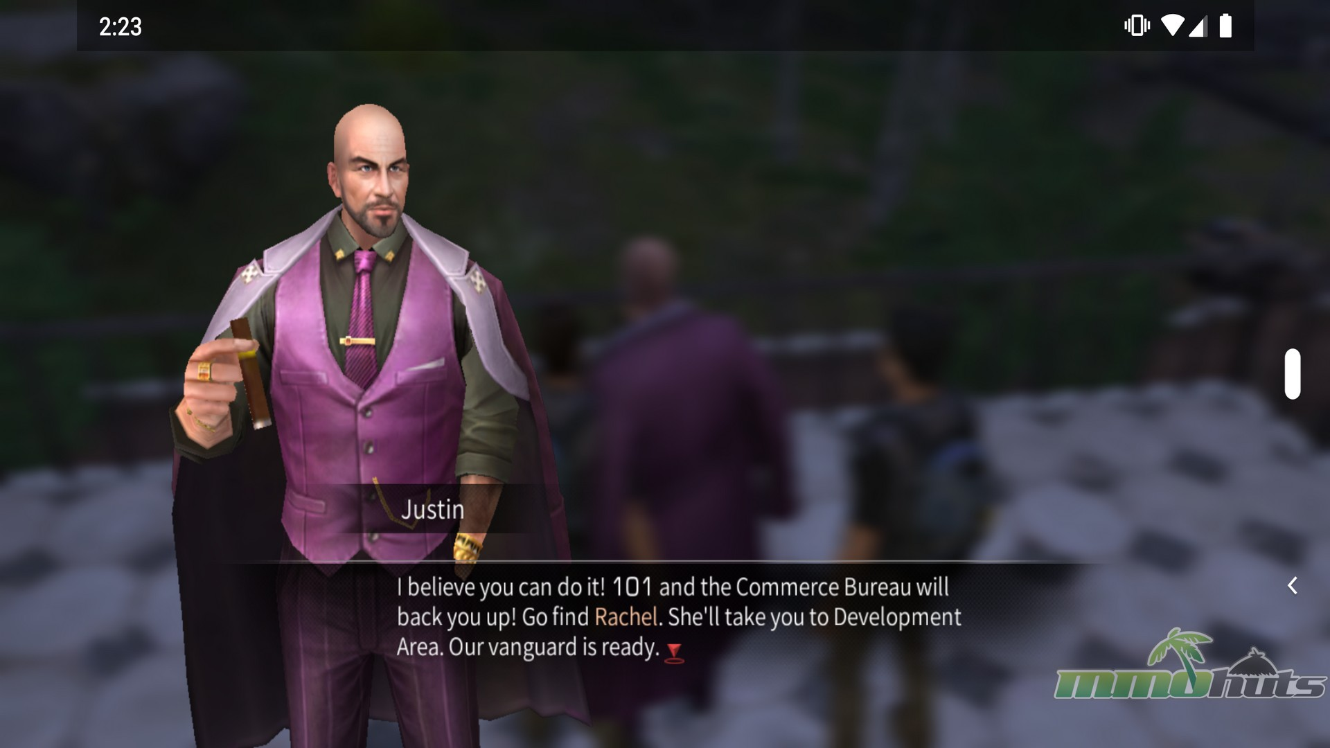Screenshot of Hope 101 Mayor, Justin, from LifeAfter mobile game
