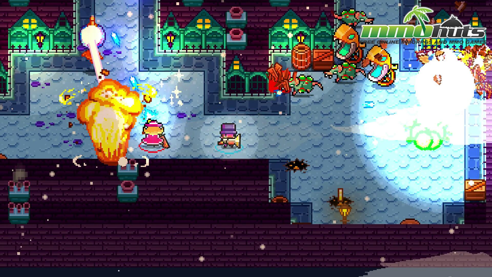 Monsters And Monocles_Snowy Village