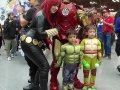 NYCC 2016 Cosplay 07 - TMNT and Iron Man