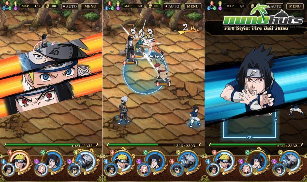 Ultimate Ninja Blazing_Fire Ball Jutsu