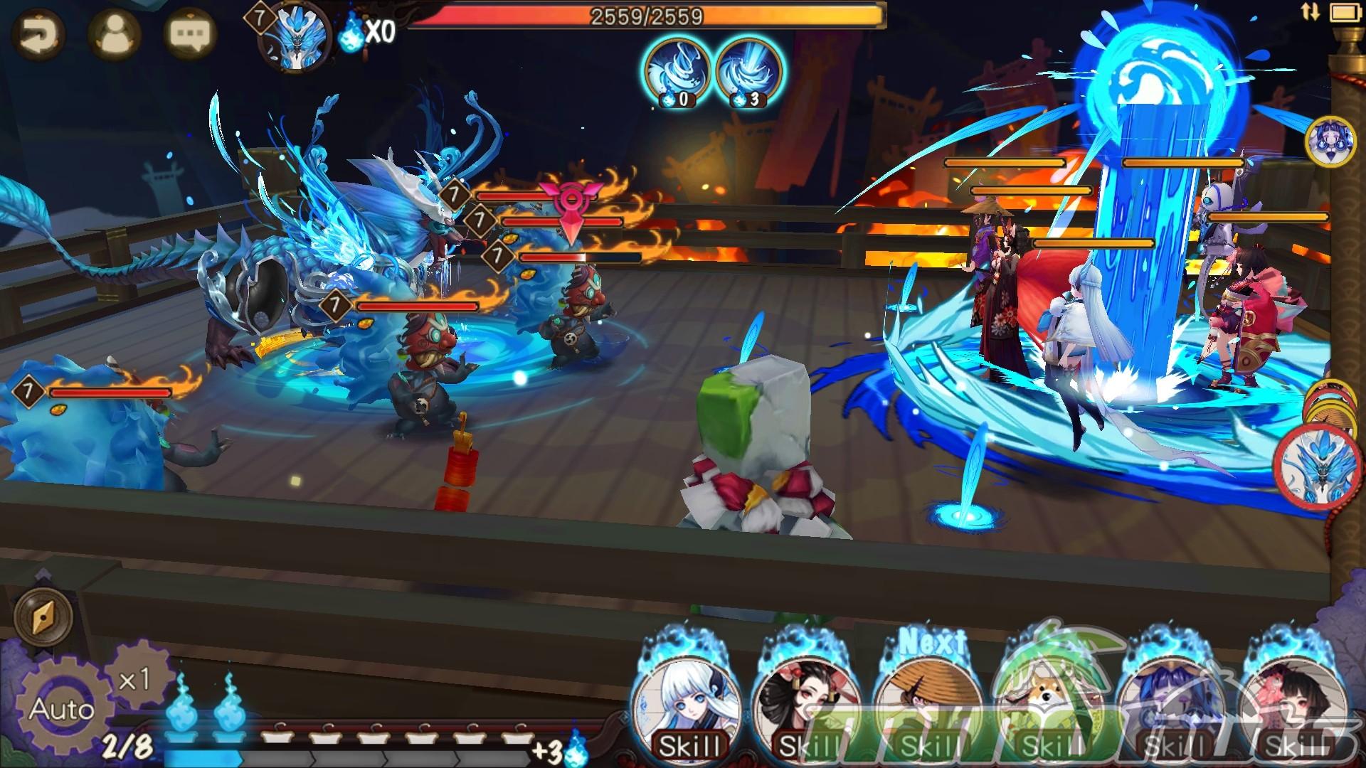 Onmyoji Gameplay Screenshot