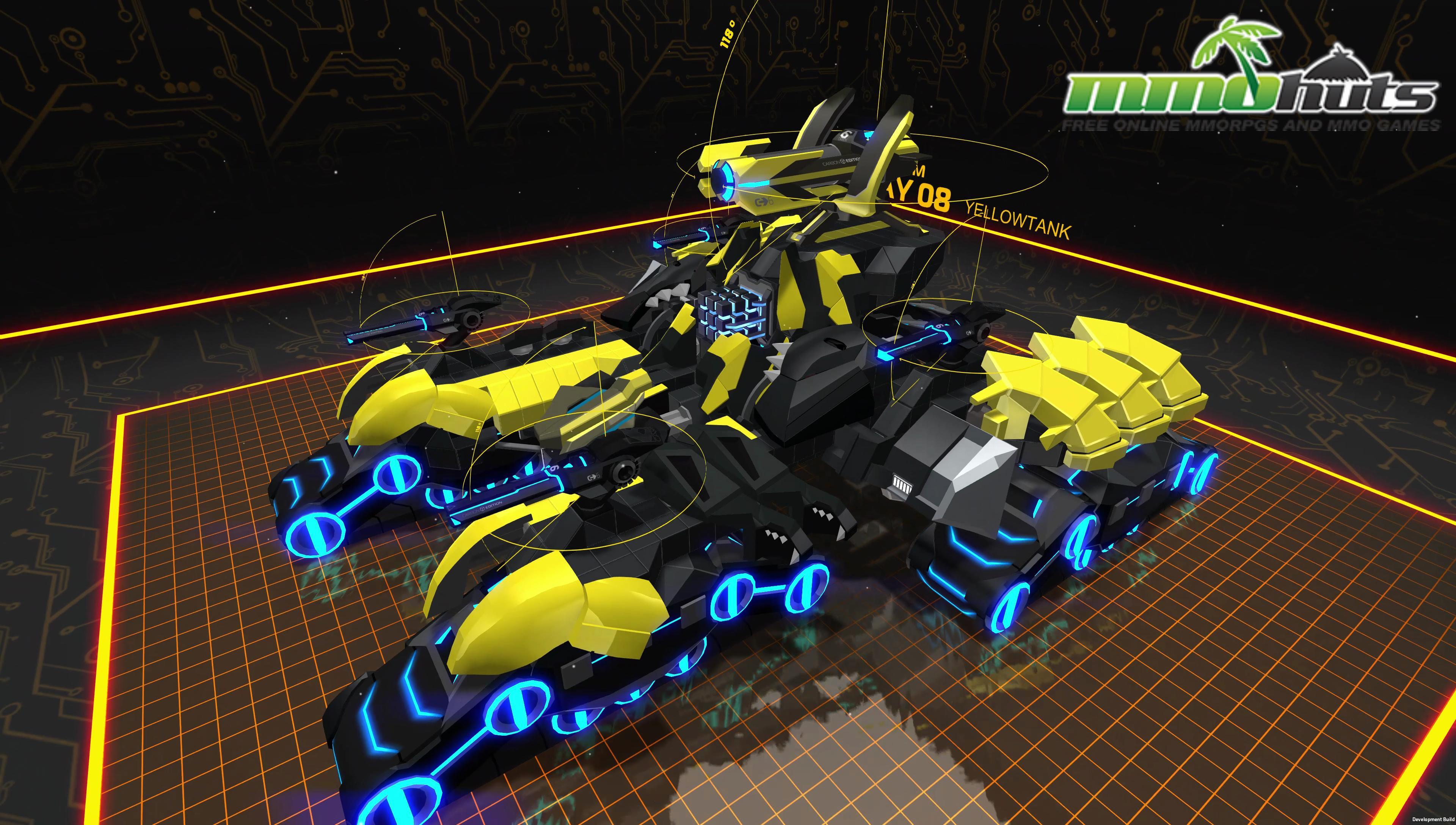 Robocraft Infinity Mmohuts