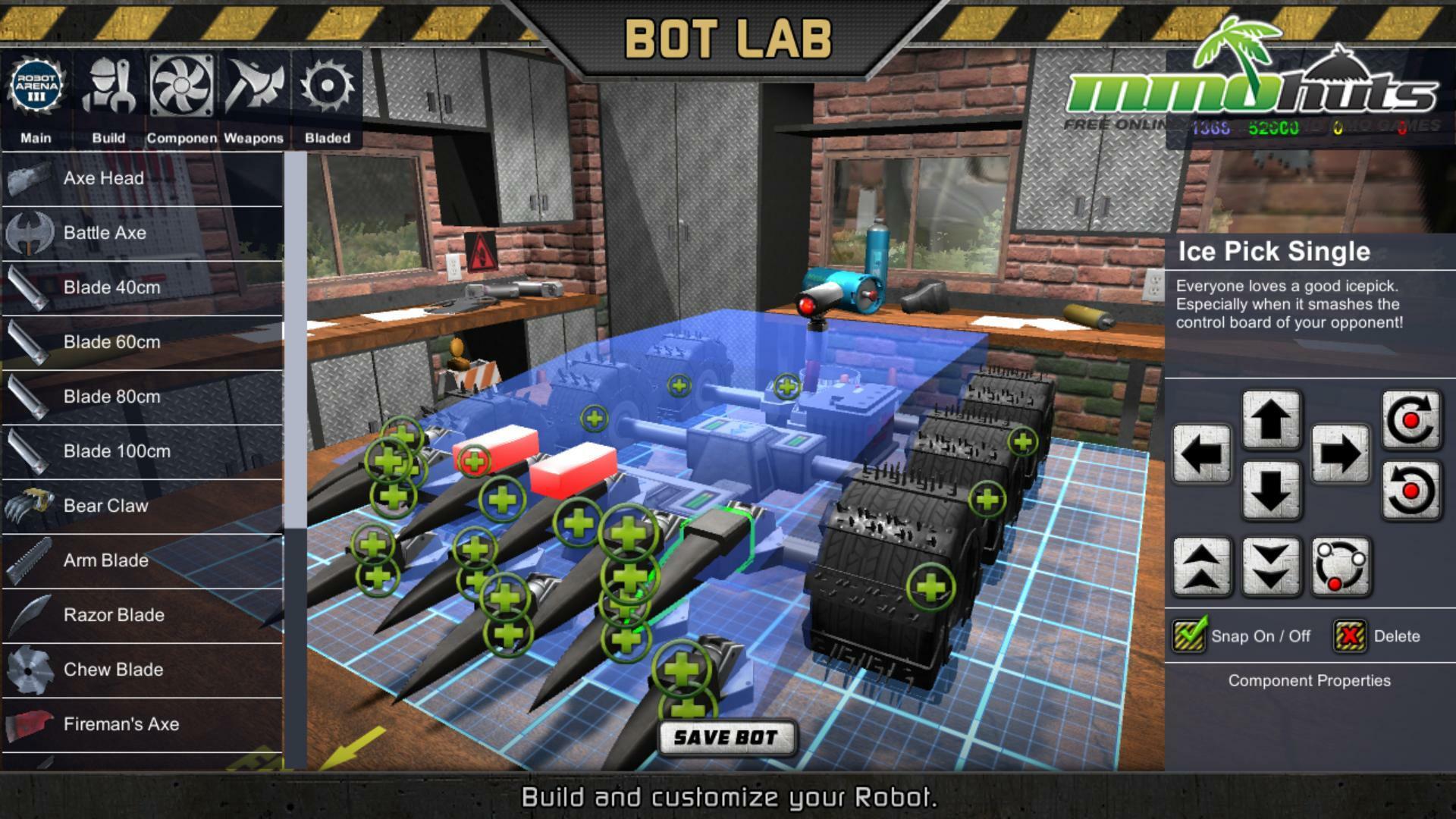 Robot Arena Iii Mmohuts