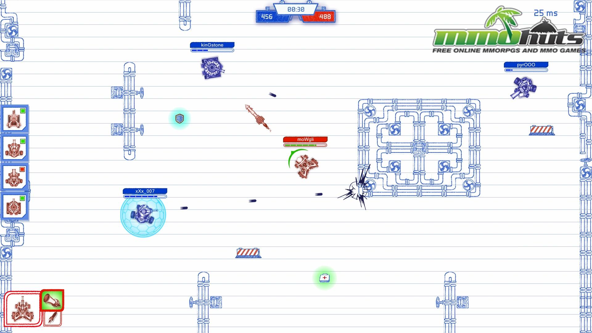 Scribbled Arena_Battle