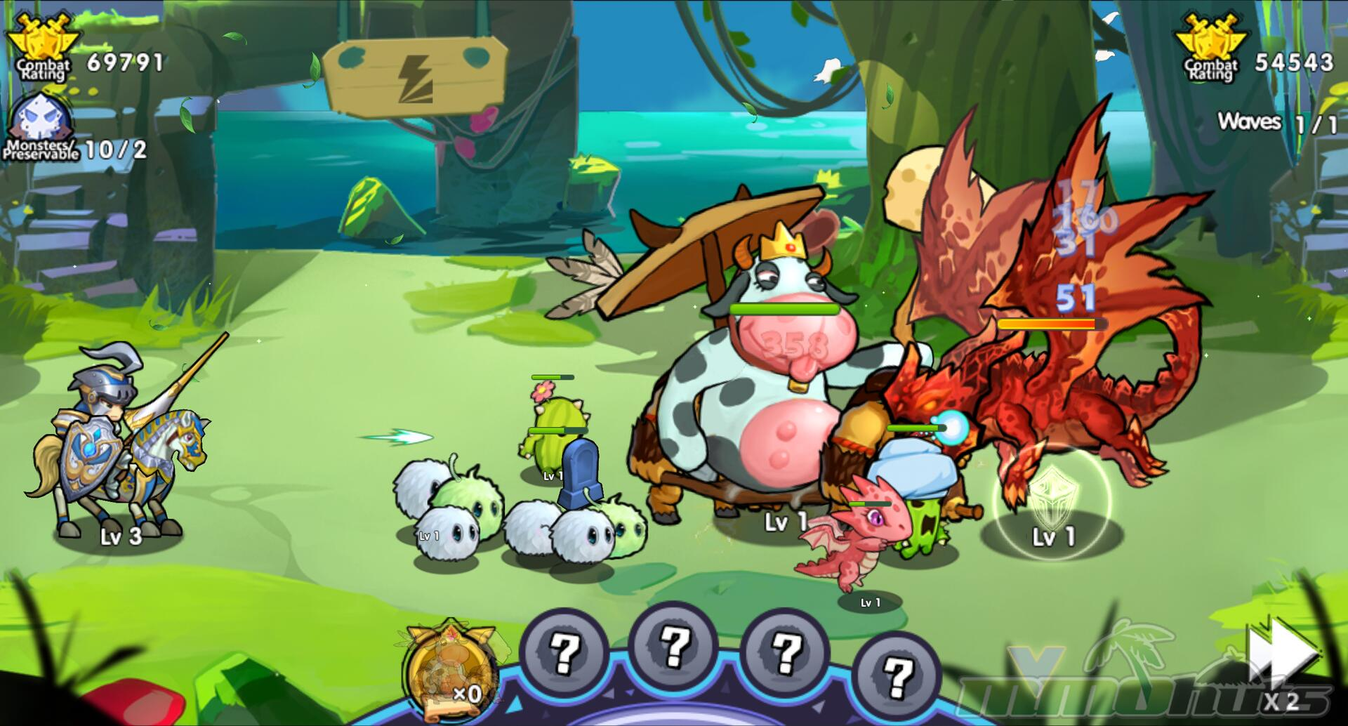 Summoners & Puzzles Screenshot