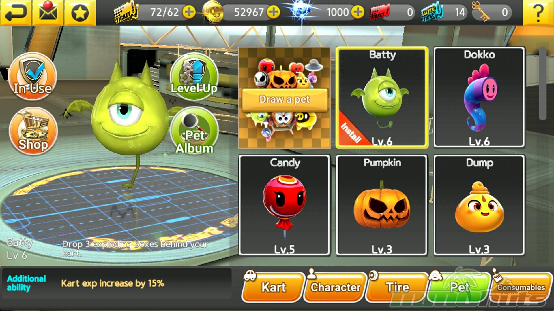 ToyKart Gameplay Screenshot