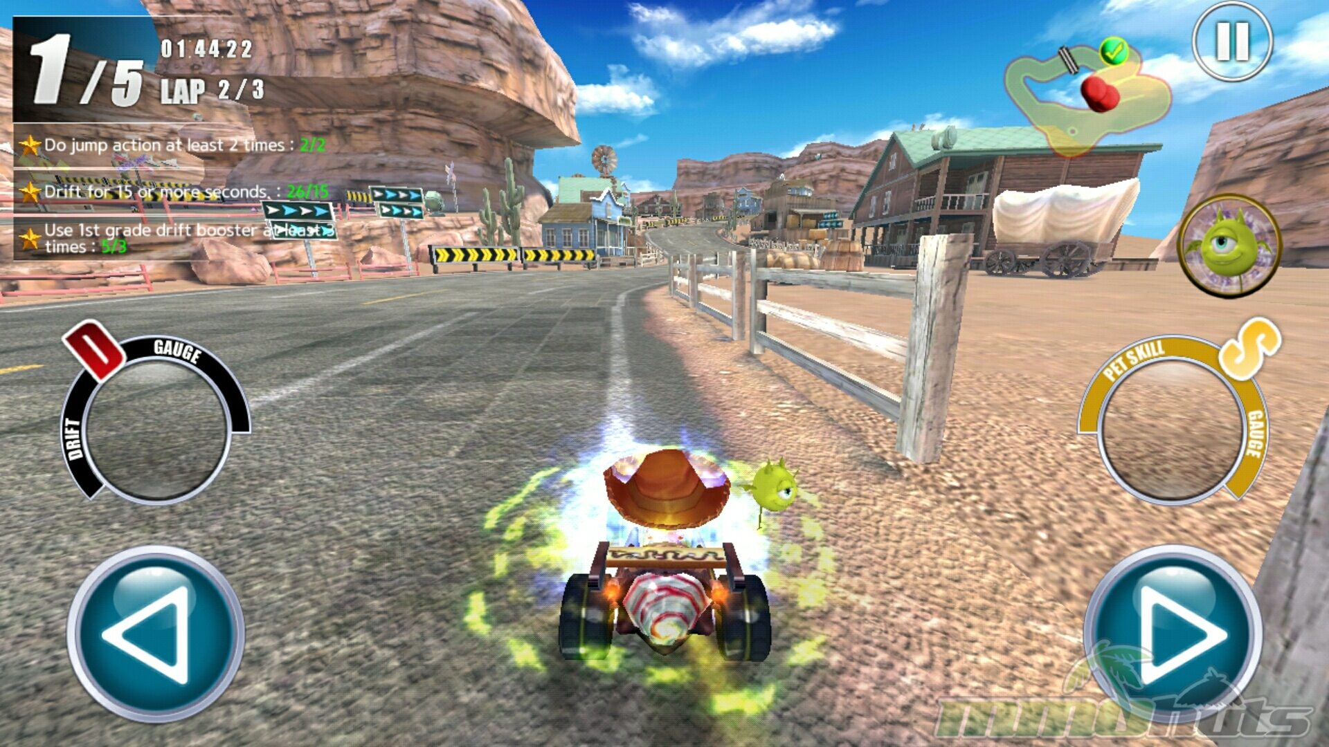 ToyKart Gameplay Screenshot