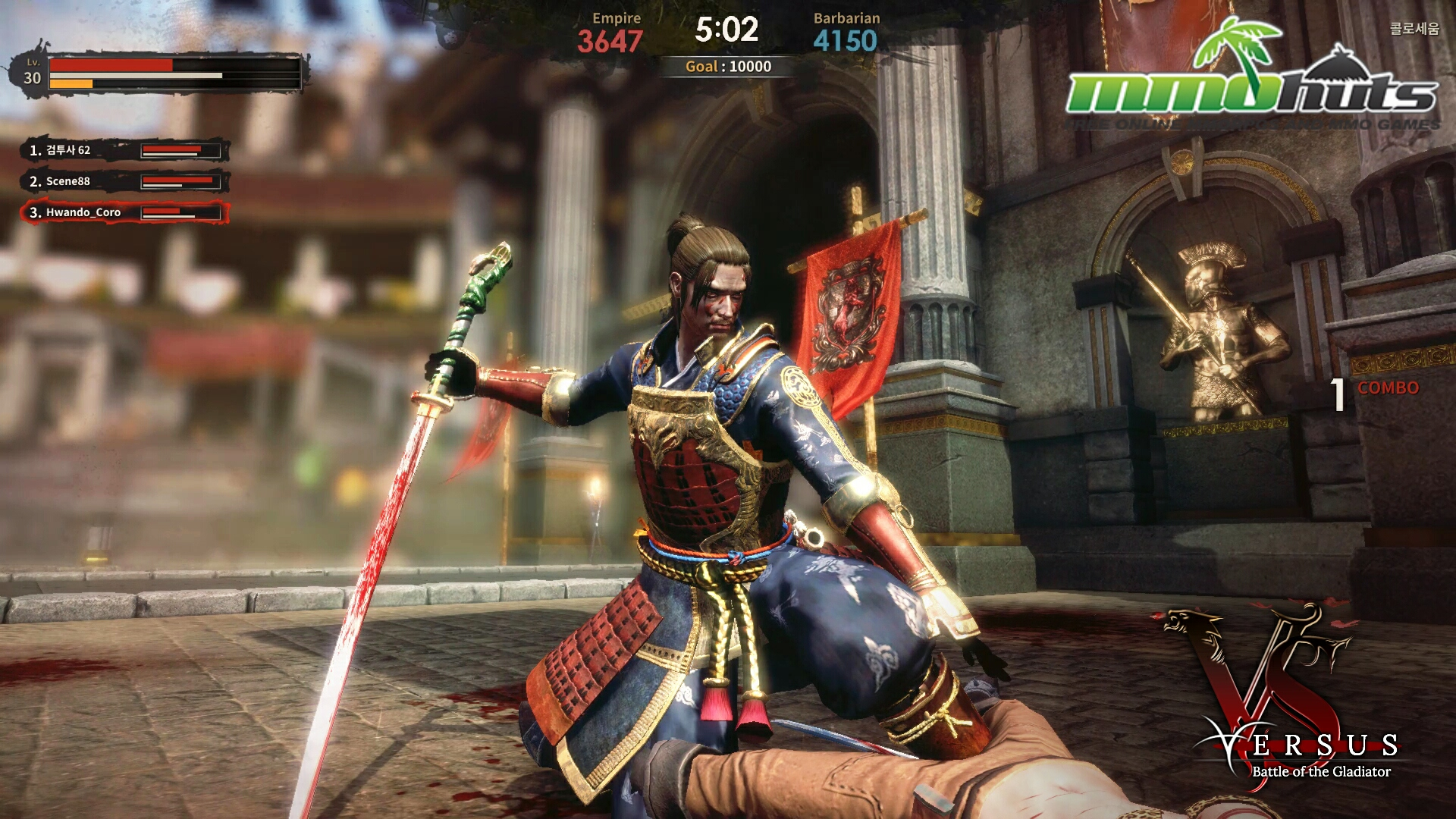 Play eGames.com's Swords and Sandals Gladiator Game