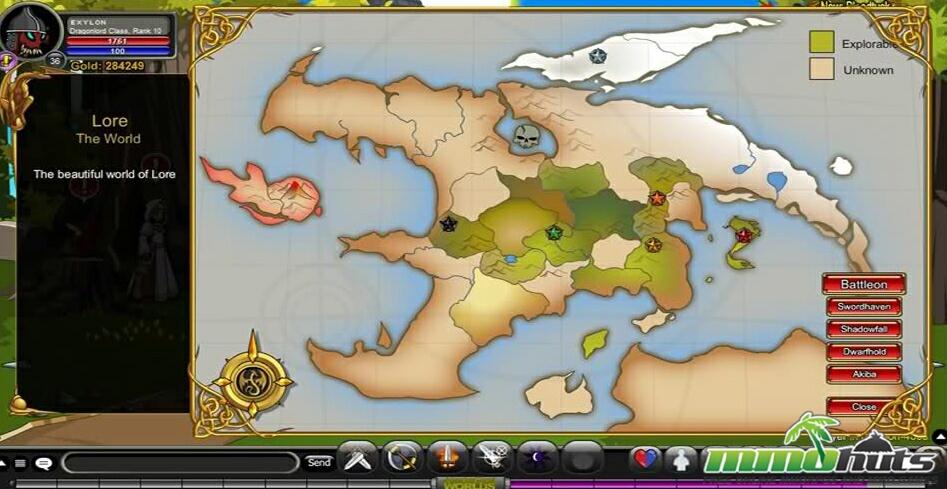 AdventureQuest Worlds   MMOHuts