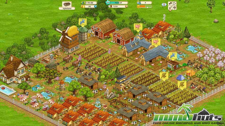 Big Farm | MMOHuts Goodgame Big Farm
