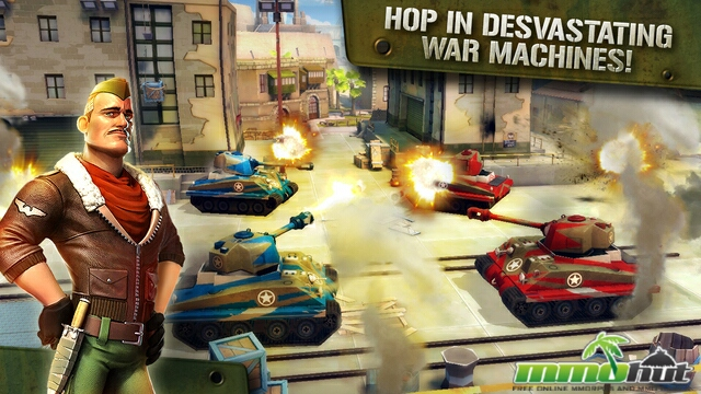 Blitz Brigade_Vehicles
