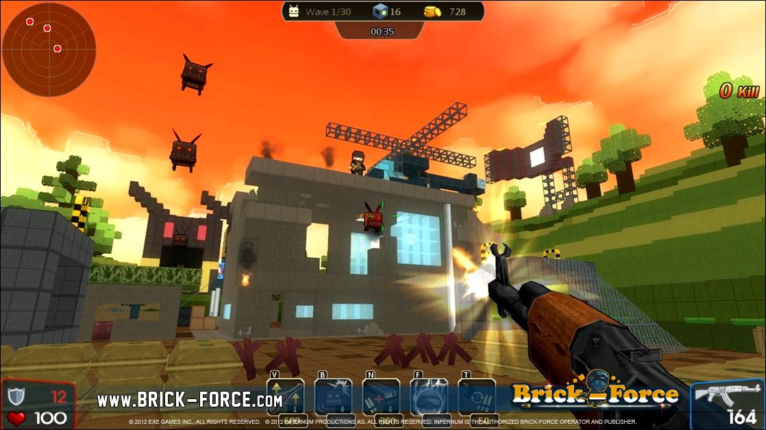 Brick Force Online Spielen