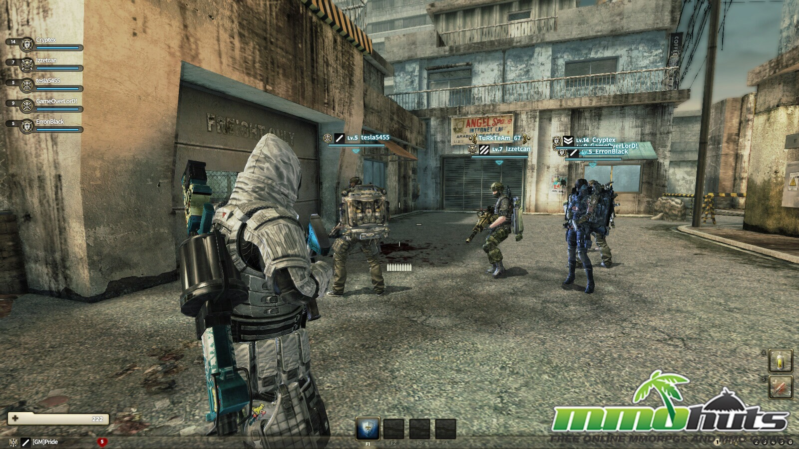 third person shooter video game - HD1600×900