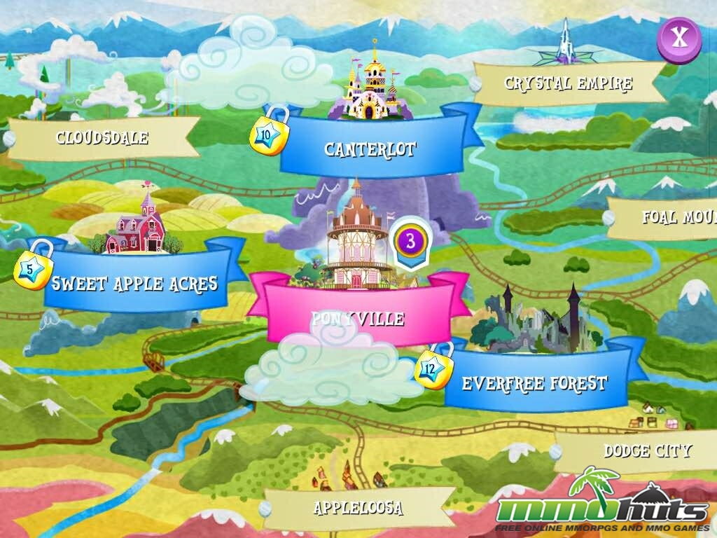 My Little Pony Friendship Is Magic Mobile Review Mmohuts