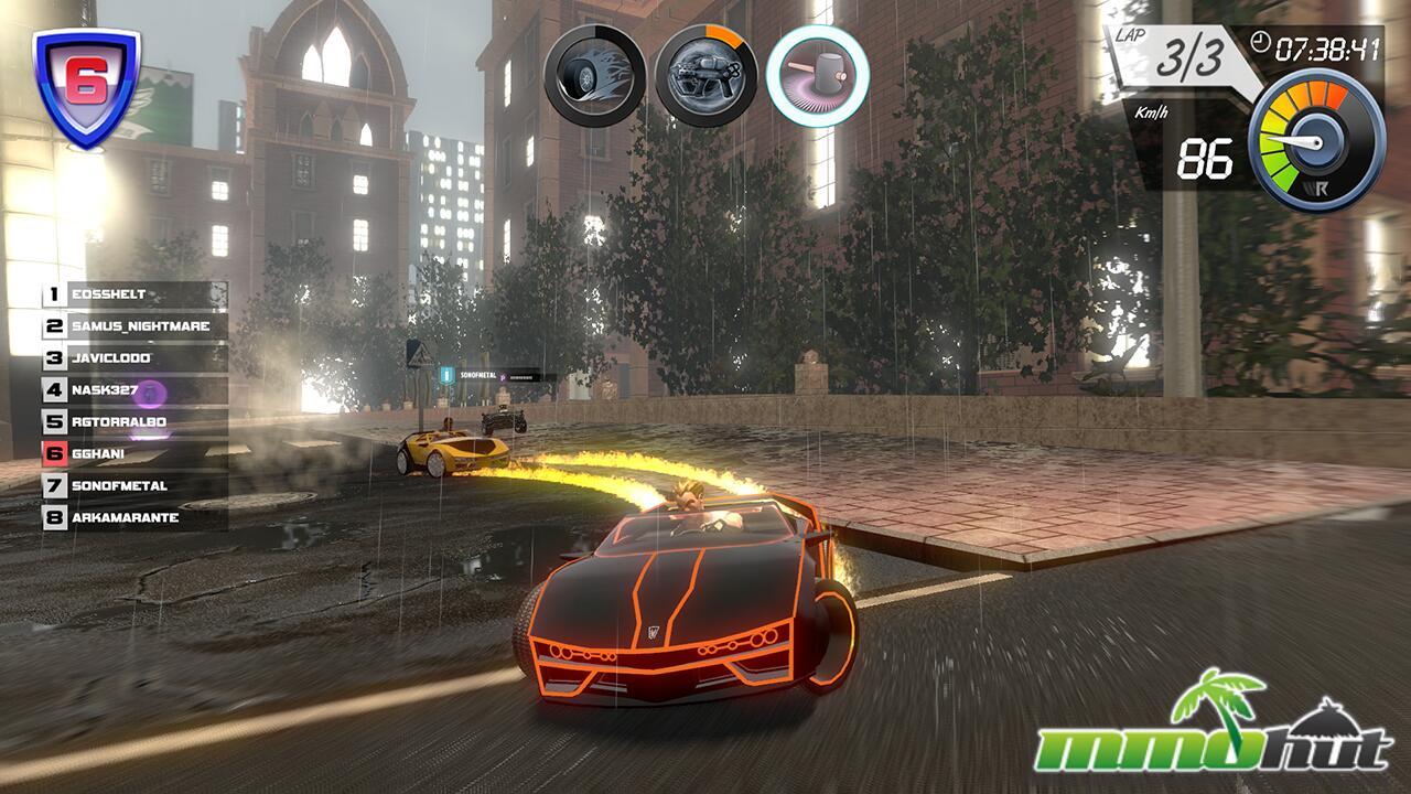 Wincars Racer_Orange Car