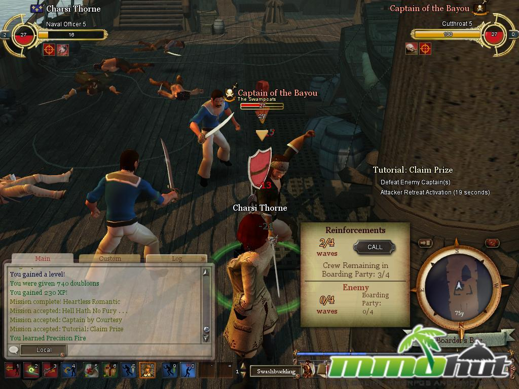 Pirates of the Burning Screenshot