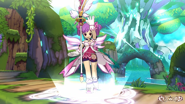 Elsword New Dimension Witch Class