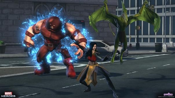 Marvel Heroes Update