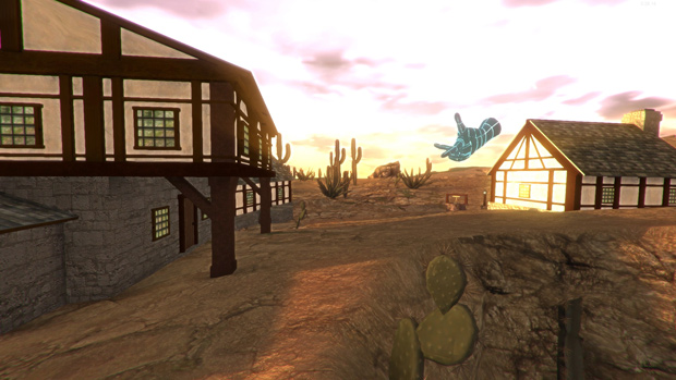 UemeU Alpha Screenshot; Nice Western Scenery