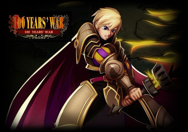100 Years War Online Game Banner