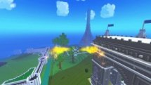 Flying in Trove