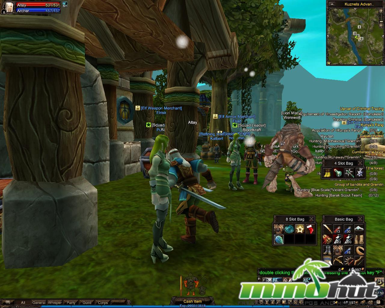 4Story Town Main Screenshot