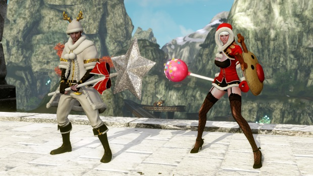 ArcheAge Christmas 2014 Screenshot