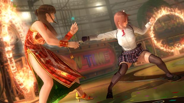 Dead or Alive 5 Preview; Hanoka 3