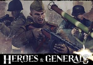 Heroes & Generals Game Banner