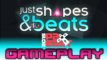 DizzyPW stops in at Berzerk Studio's Just Shapes and Beats demo to try out a simple yet addicting four player co-op challenge that tests your ability to flow with the beat, through a gauntlet of pink death!
