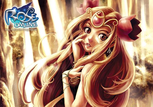 Rose Online Game Profile Banner
