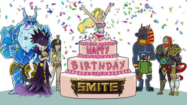 SMITE Birthday Image