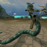 SMITE Medusa in Game Screenshot