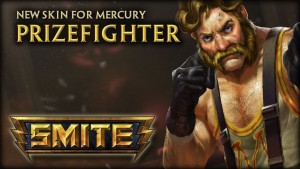 SMITE Mercury Prizefighter Skin Reveal Video Thumbnail