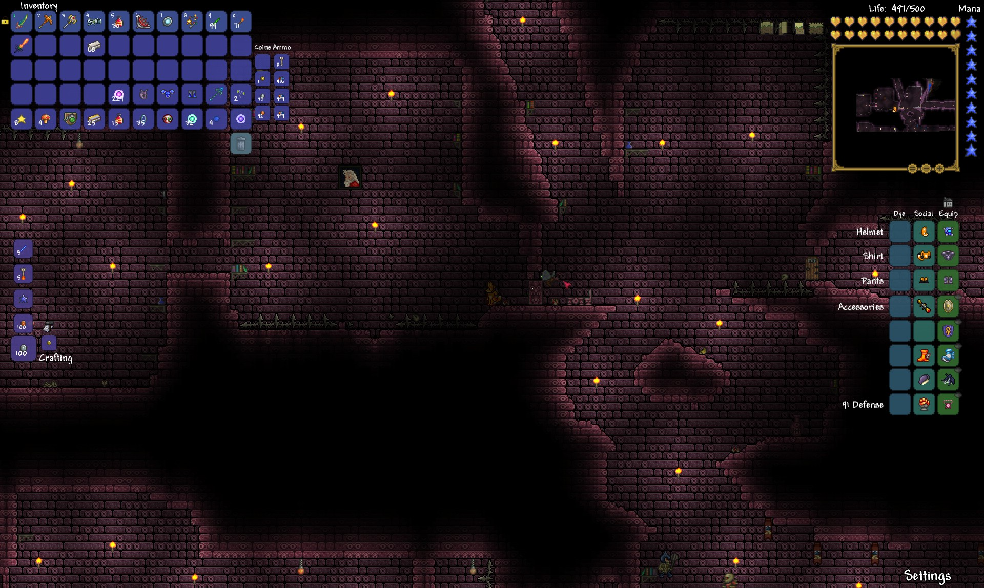Terraria Review - Dungeon Crawl