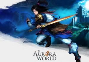 The Aurora World Game Banner