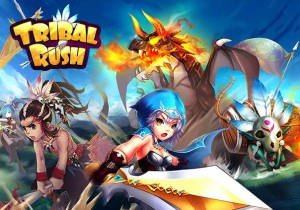 Tribal Rush Game Profile Banner