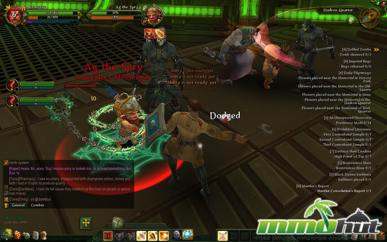 Allods Online Dodged Screenshot