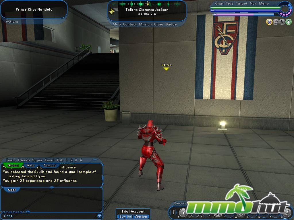 City of Heroes Building Inside Screenshot