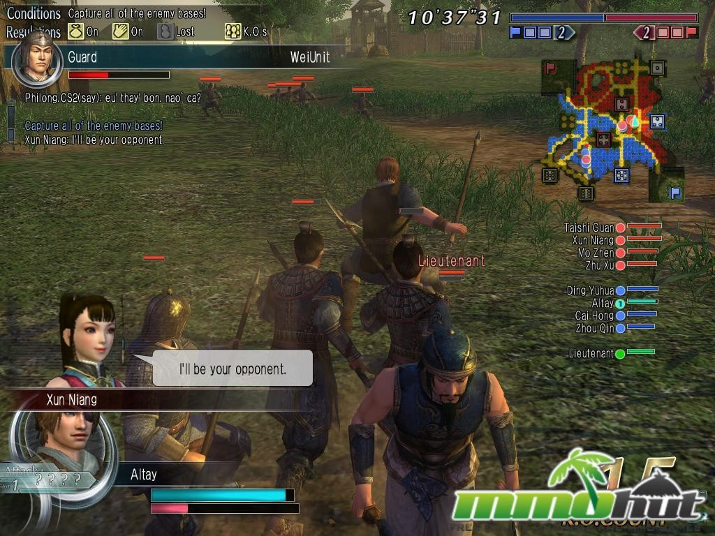 Dynasty Warriors Online – A Free to Play Japanese Developed MMORPG