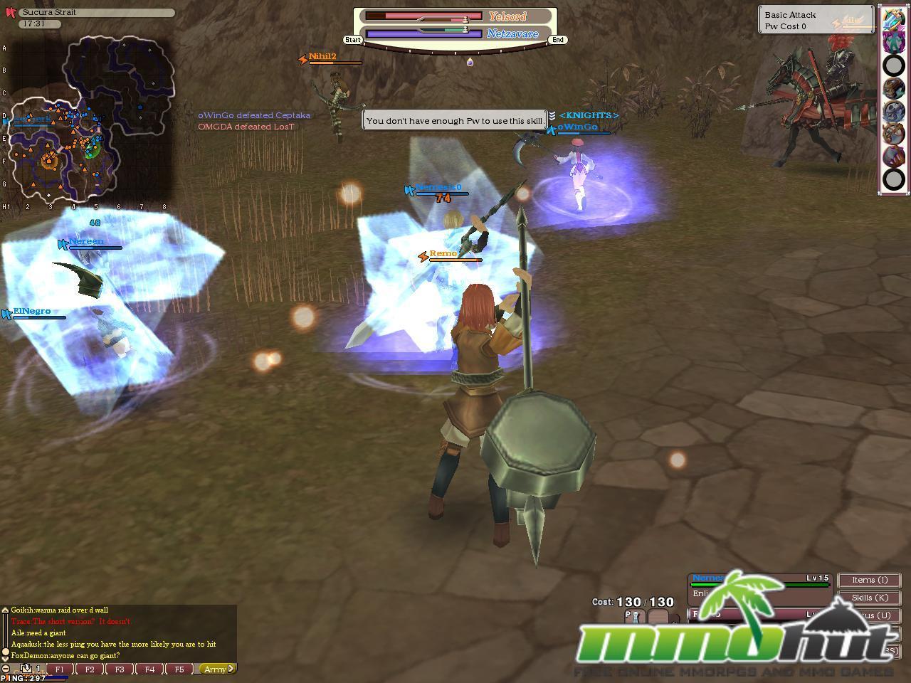 Fantasy Earth Zero Fez Screenshot