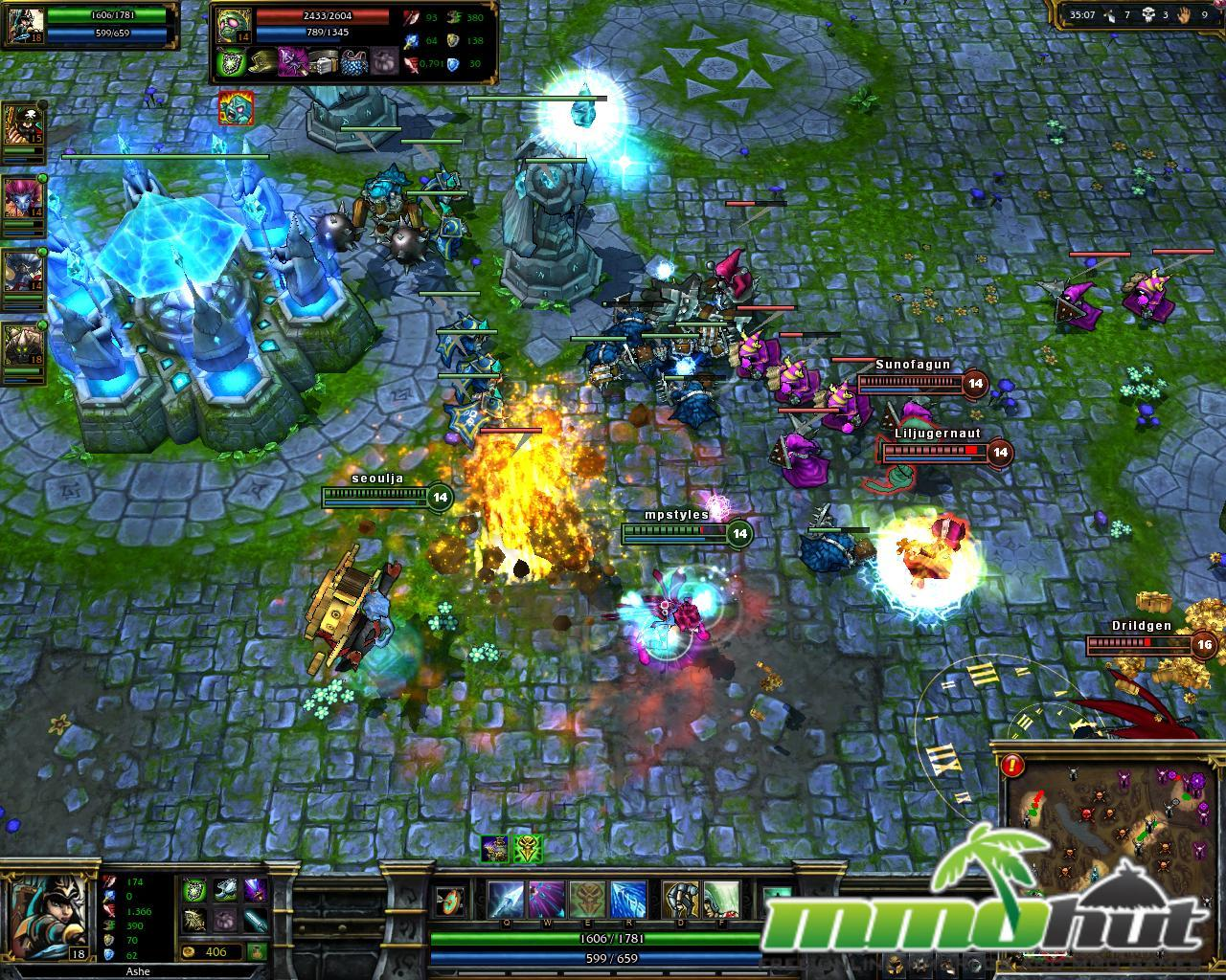 Top 10 Best 3D MMORPGs / MMOs League of Legends