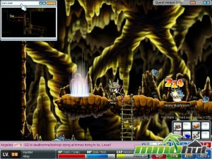 MapleStory Dungeon Screenshot