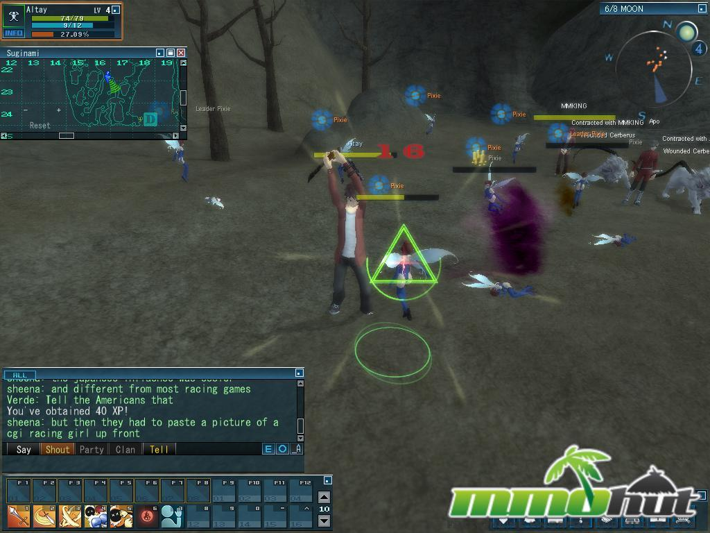 Megaten Combat Screenshot