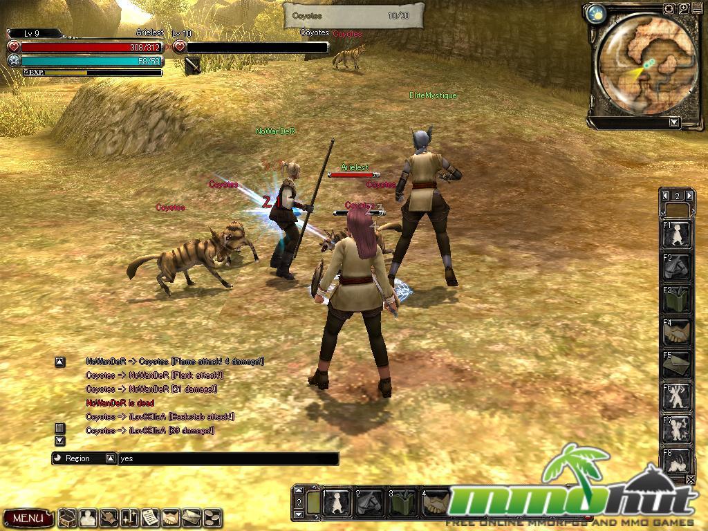 Pandora Saga Sword Screenshot