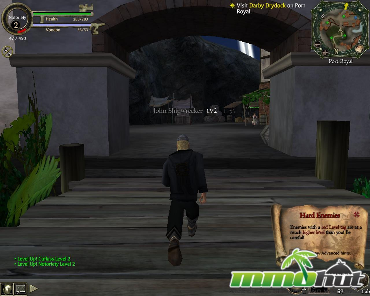 Pirates of the Carribbean Online Bridge Screenshot