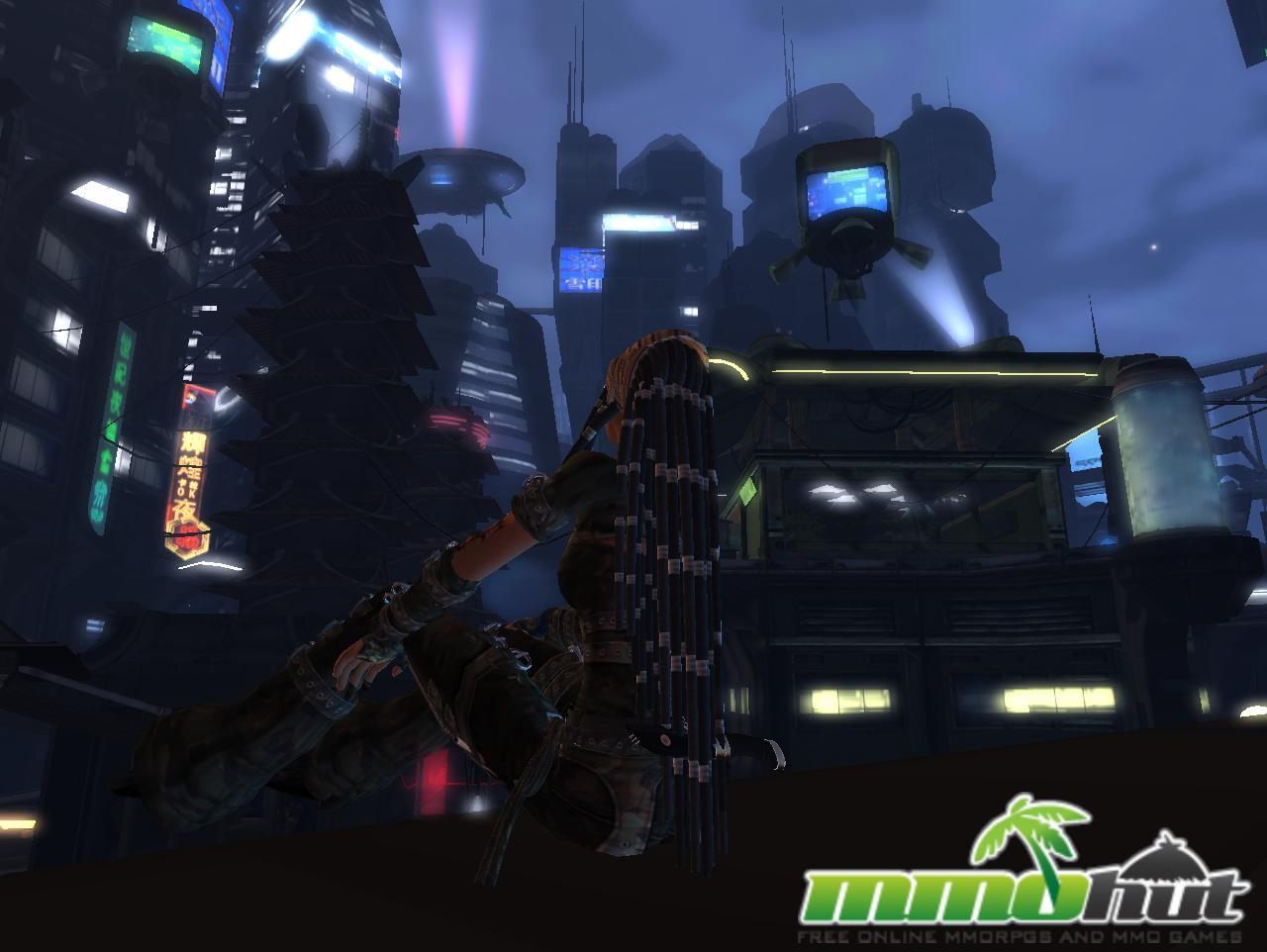 Second Life Looking Sky Screenshot