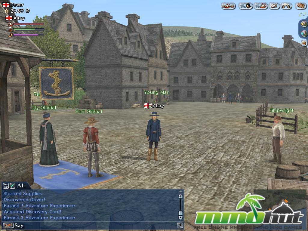 Uncharted Waters Online Dover Screenshot