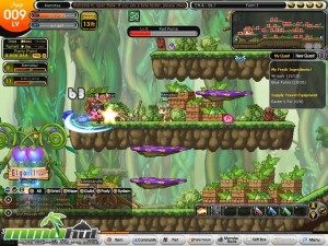 Wonderking Combat Screenshot