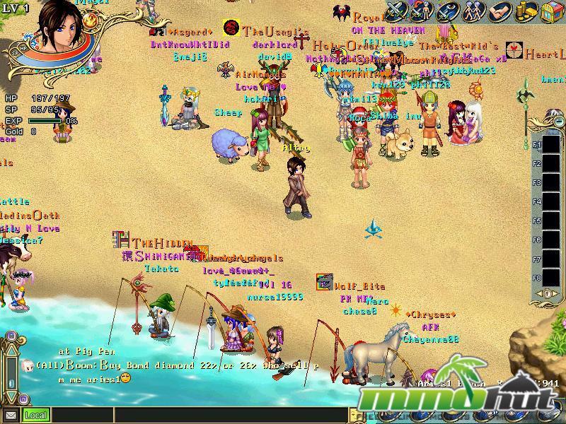 Wonderland Online Beach Screenshot